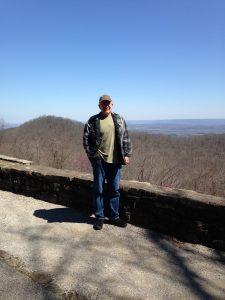 Steve Jones at Monte Sano State Park