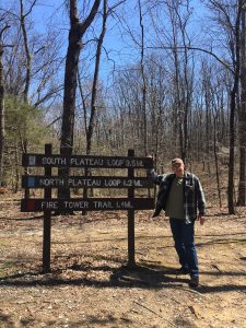 Steve Jones at Monte Sano State Park