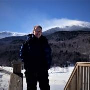 Steve Jones at Mount Washington