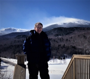 Steve Jones at Mount Washington